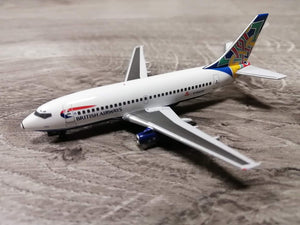 "1:400 AV400 BRITISH AIRWAYS B737-236 G-BGDR ""Ireland"""