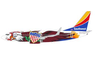 "1:200 GEMINI JETS SOUTHWEST B737-700 N918WN ""Illinois One"""