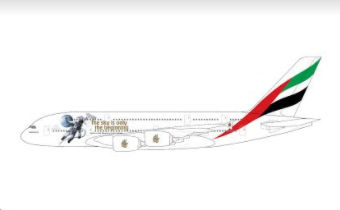 1:400 GEMINI JETS EMIRATES A380 A6-EEH