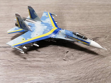 1:200 World Aircraft Collection Ukraine Airforce SU-27