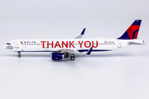 "1:400 NG DELTA A321-200/w N391DN ""THANK YOU"""