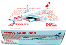 Load image into Gallery viewer, 1:400 NG SWISS INTERNATIONAL A330-300 HB-JHC