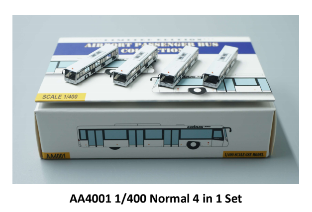 1:400 FANTASYWINGS AIRPORT BUS GSE NORMAL VERSION