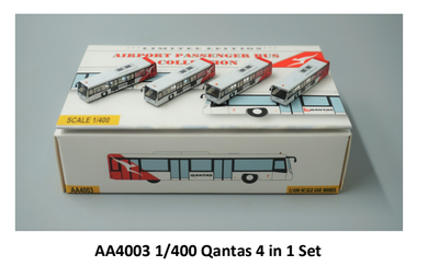 1:400 FANTASYWINGS QANTAS AIRPORT BUS GSE