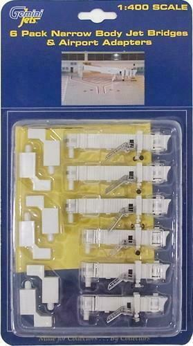 1:400 GEMINI JET BRIDGE NARROWBODY PACK OF 6