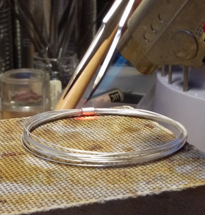 Work in Progress_Coil Bangle