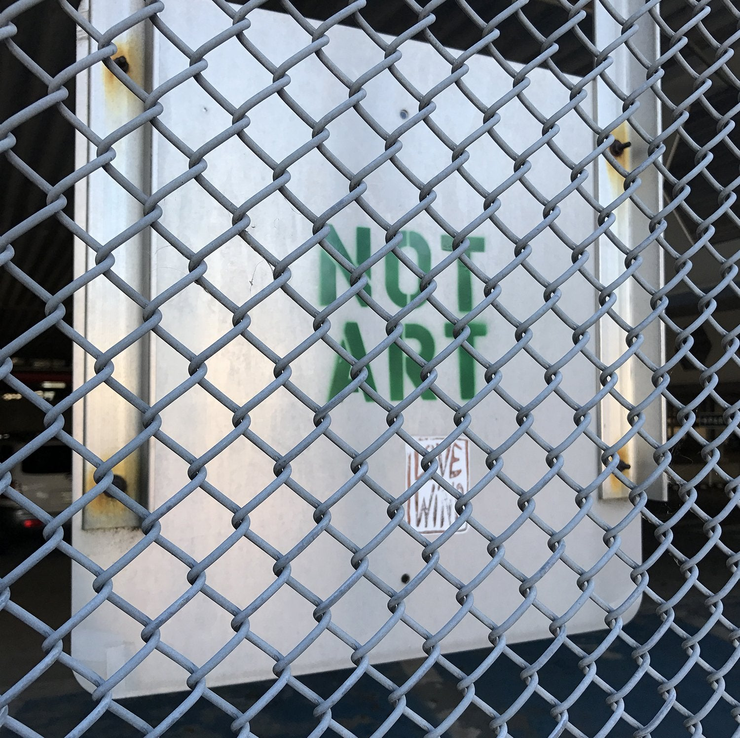 Not art...Love wins