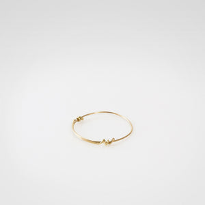 18K Gold Adjustable Ring