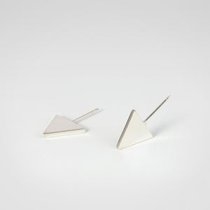 Flat Triangle Earrings - beeshaus
