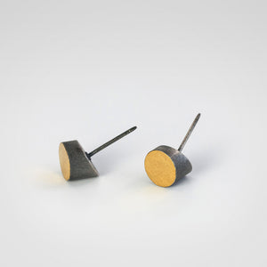 CyTilt Oxidized Earrings - beeshaus