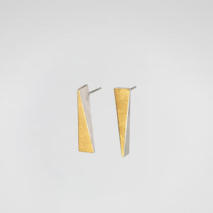 Triangle Long Earrings - beeshaus