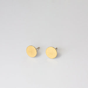 Thin Circle Keum-boo Earrings - beeshaus