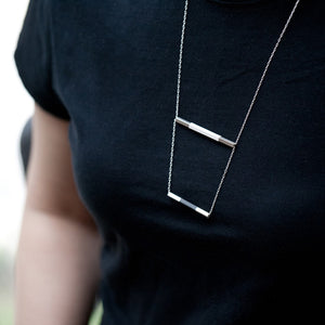 2SQ Tube Necklace - beeshaus