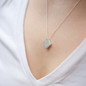 3456∞ / Double Faced Square Necklace - beeshaus