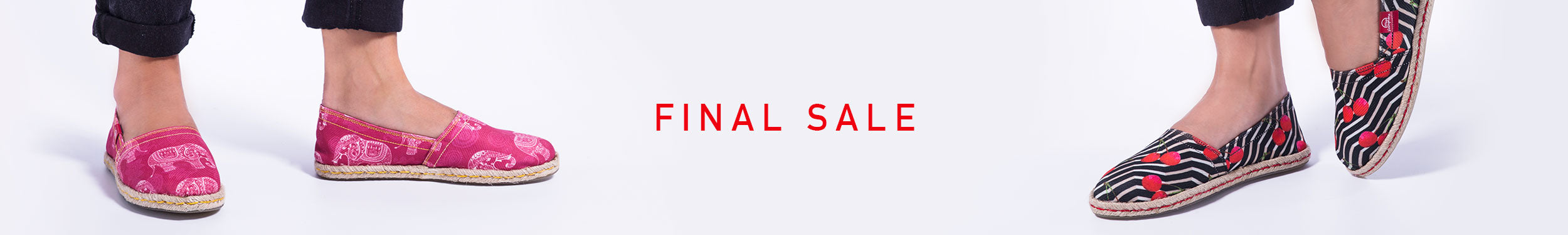Espadrilles Final Sales