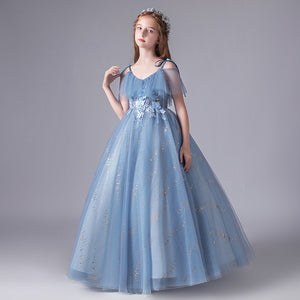 Flower Girl Dress Dress Prom Princess Formal Occassion  Ball Gown For Girls For 2-12 Year Old
