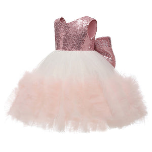 little girl dresses Flower Dresses Lace Princess Short Lovely Puffy Tulle Dress Prom Formal Pageant Dance Gown  For 2-12 Year Old Kids
