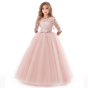 Flower Girl Dress Daily Casual Dress Junior Ball Gown Formal Party Pageant Maxi Dress