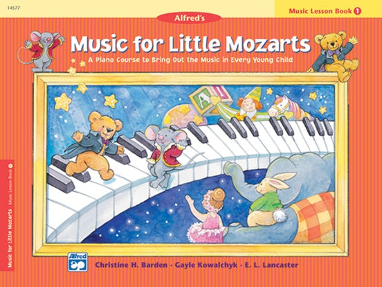 Alfred Music for Little Mozarts ( Music Lesson ) Book 1
