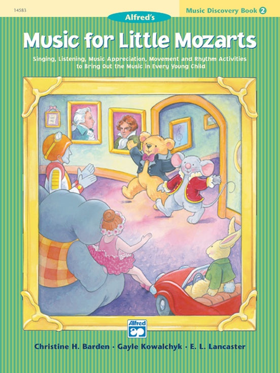 Alfred Music for Little Mozarts ( Music Discovery ) Book 2