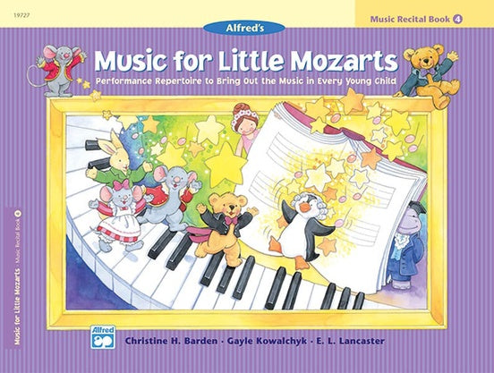 Alfred Music for Little Mozarts Music Recital Book 4