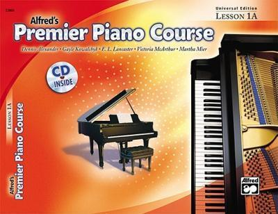 Alfred Premier Piano Course ( Universal Edition Lesson 1A ) - Book with CD