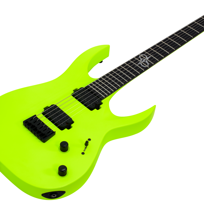 SOLAR A2.6LN Electric Guitar - Lemon Neon Matte
