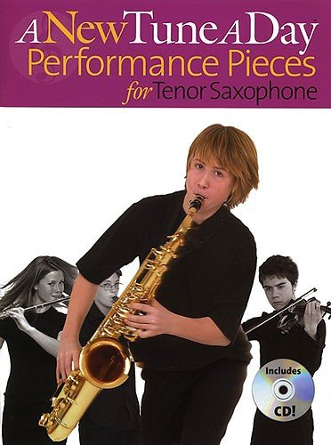 A New Tune A Day : PERFORMANCE PIECES for Tenor Saxophone (Book with CD) singapore sg