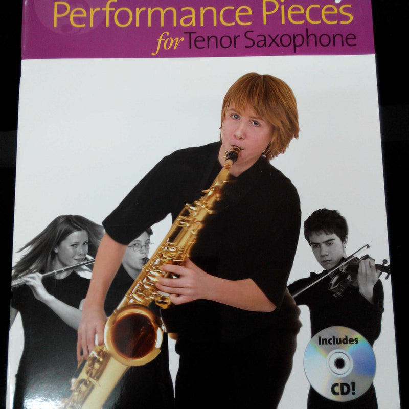 A New Tune A Day : PERFORMANCE PIECES for Tenor Saxophone (Book with CD)