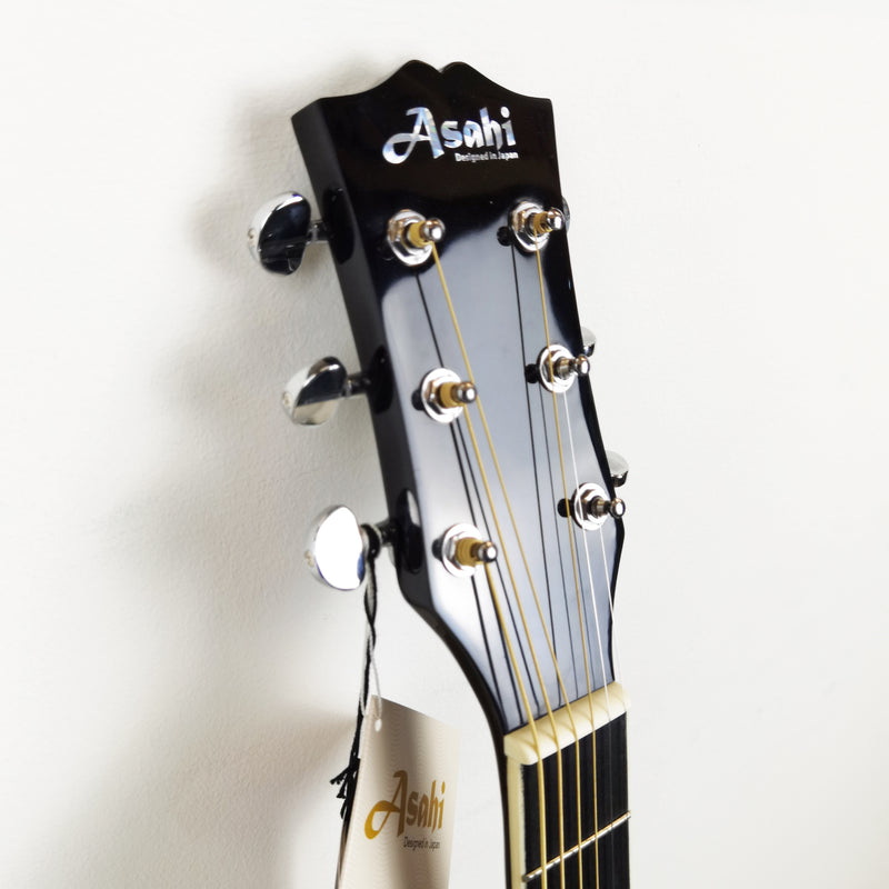 ASAHI AS40C Acoustic Guitar (Black)