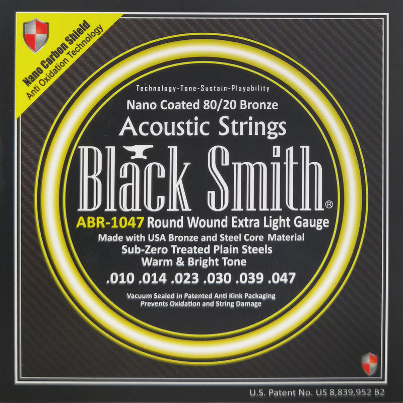 BLACK SMITH ABR1047 Acoustic Guitar Strings