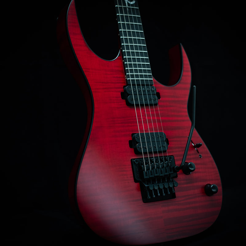 SOLAR S1.6FRFBR Electric Guitar - Flame Blood Red Matte