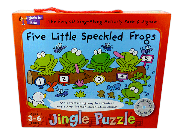 Five Little Speckled Frogs - Activity Pack with CD singapore sg