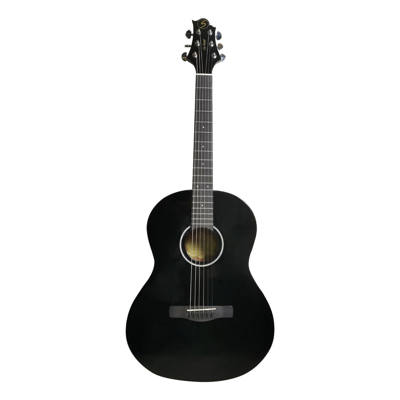 GREG BENNETT ST9-1 BK Acoustic Guitar (Black)