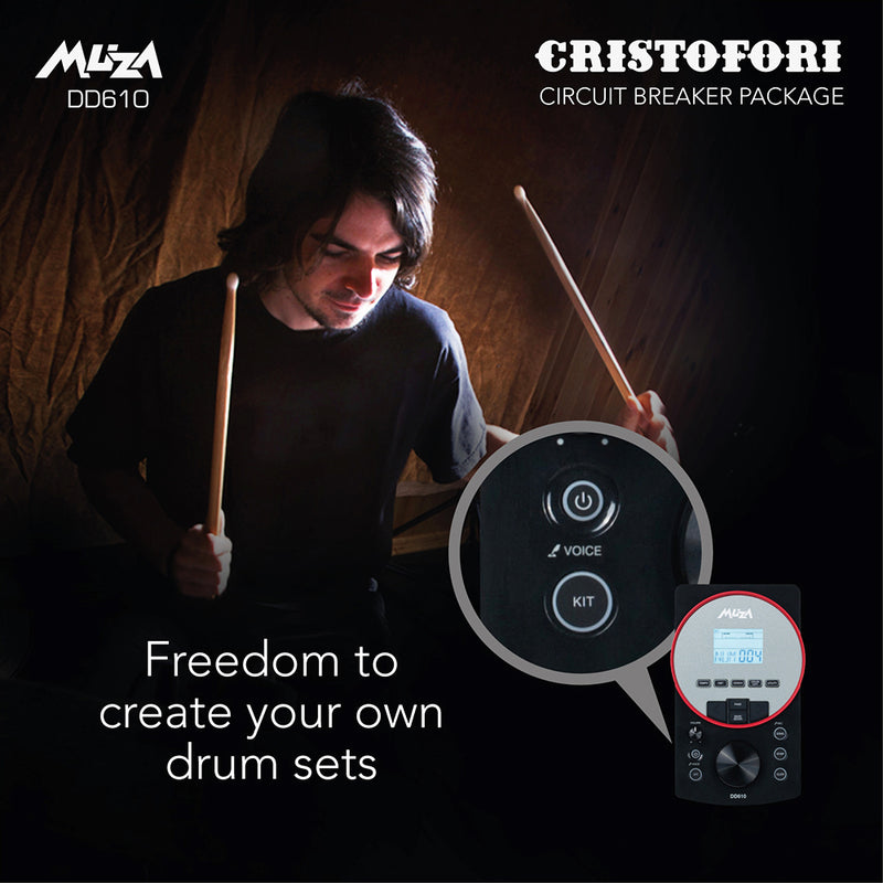 MUZA DD610S Electronic Drum Kit