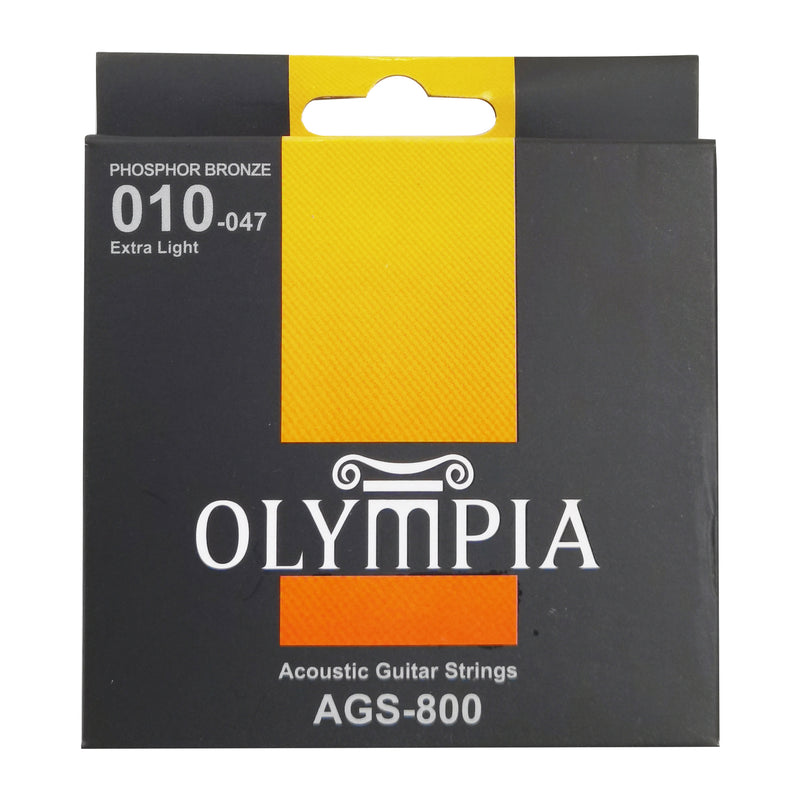 OLYMPIA AGS800 Acoustic Guitar Strings ( 010-047 )