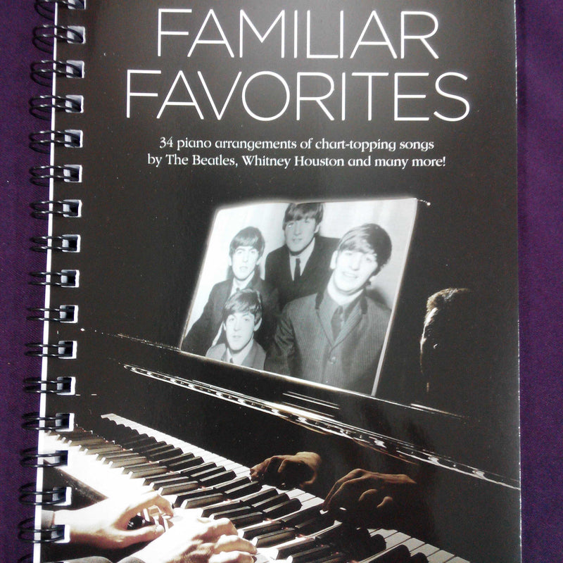 Piano Play Book - Familiar Favorites / Favourites