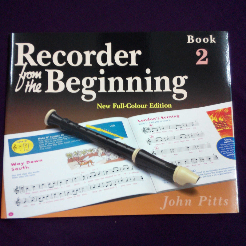 Recorder From the Beginning Book 2