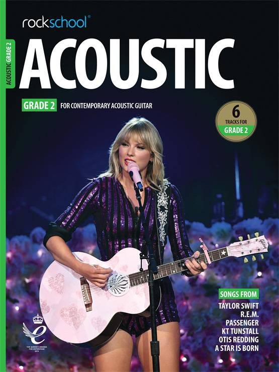 Rockschool Acoustic Guitar Grade 2 2019 Book singapore sg