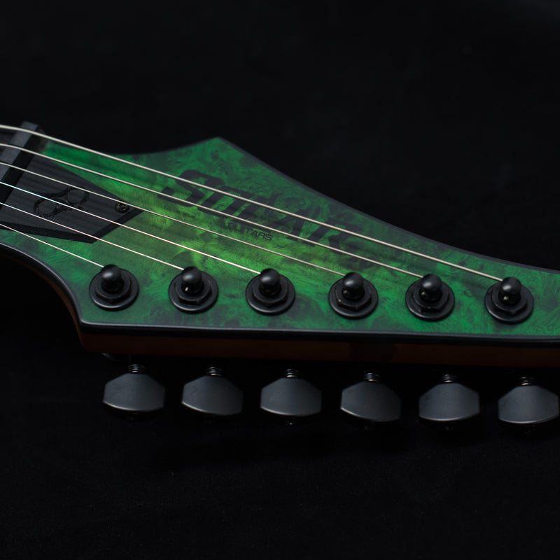 SOLAR S1.6HLB Electric Guitar - Lime Burst Matte
