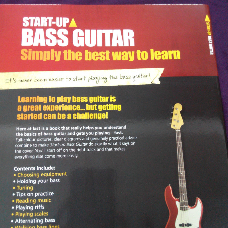 Start-Up Bass Guitar Book