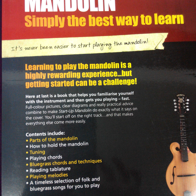 Start-Up Mandolin Book