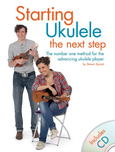 Starting Ukulele The Next Step (Book with CD) singapore sg