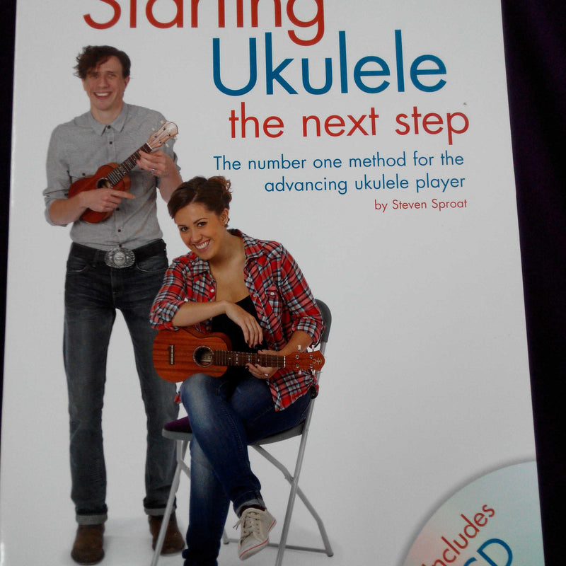 Starting Ukulele The Next Step (Book with CD)