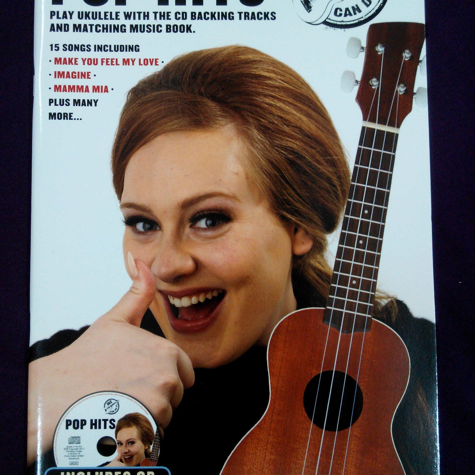Strum Along Ukulele - Pop Hits (Book with CD)
