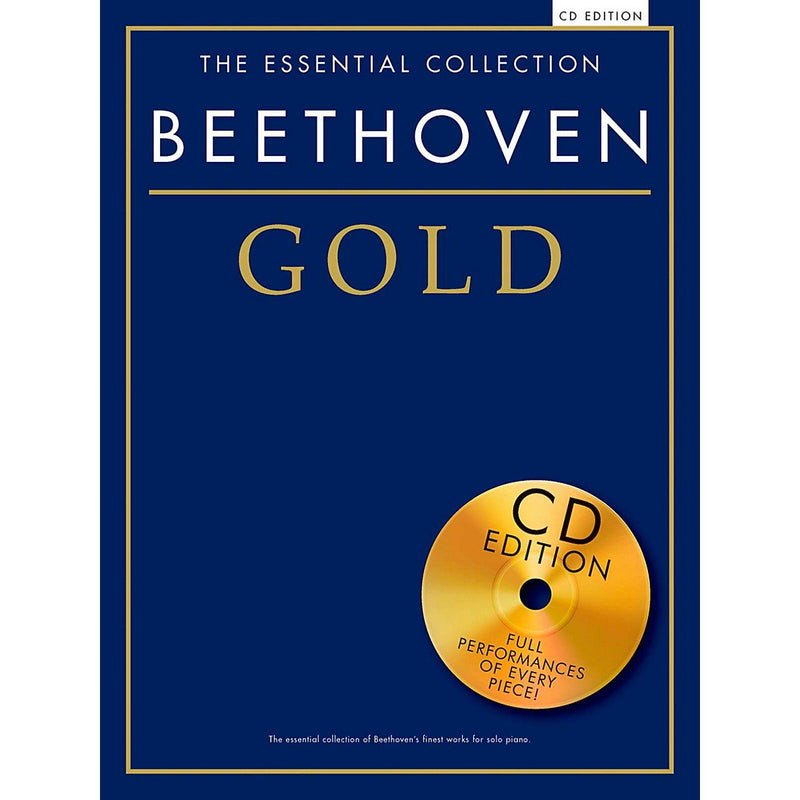 Essential Collection: Beethoven Gold (Book with CD)
