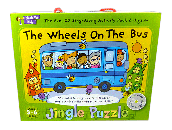 The Wheels on the Bus - Activity Pack with CD singapore sg