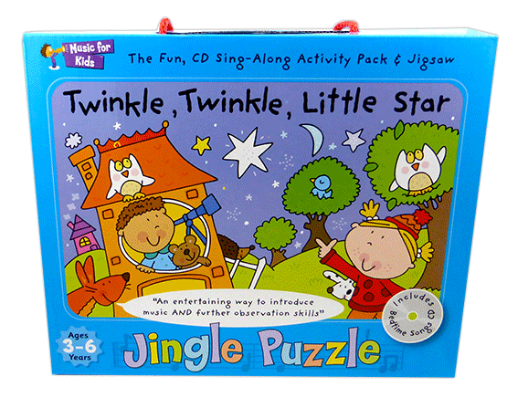 Twinkle Twinkle Little Star - Activity Pack with CD singapore sg