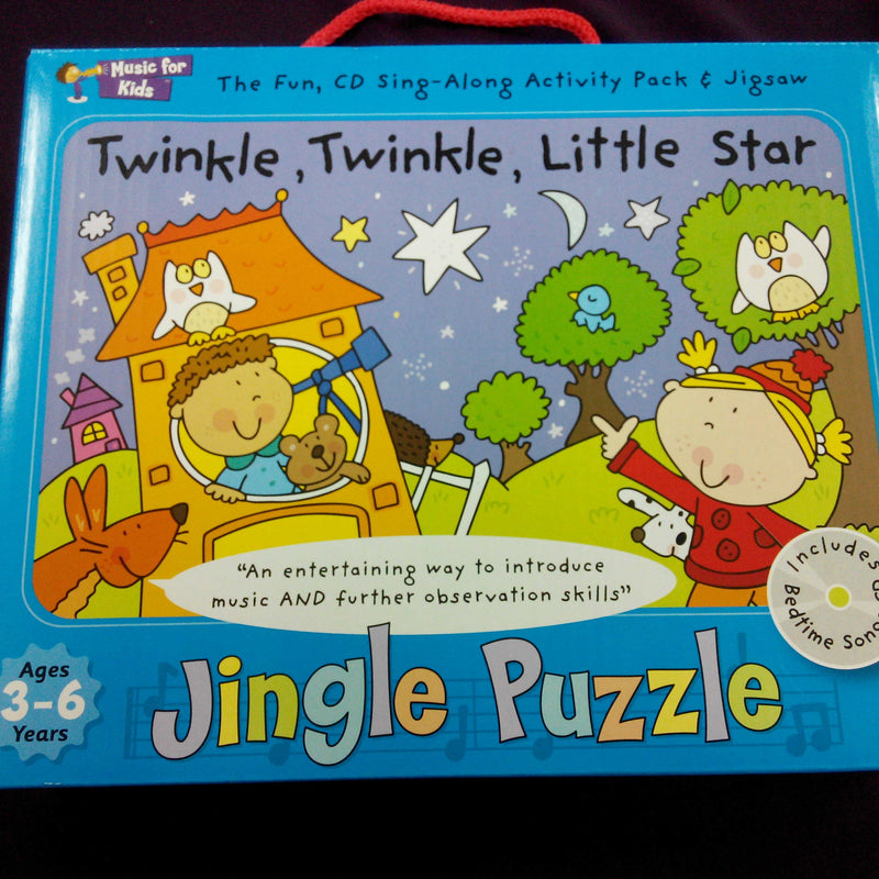 Twinkle Twinkle Little Star - Activity Pack with CD