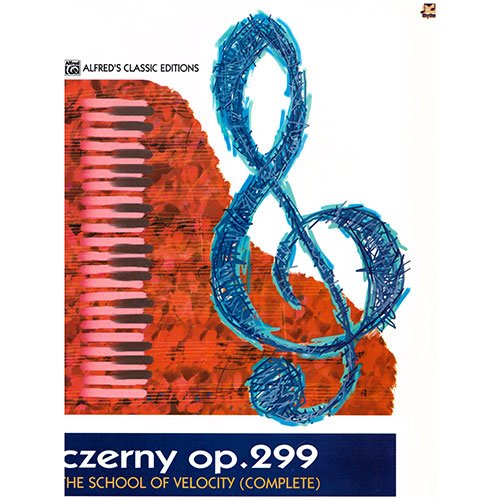 Czerny Op.299 The School of Velocity Book (Complete) singapore sg